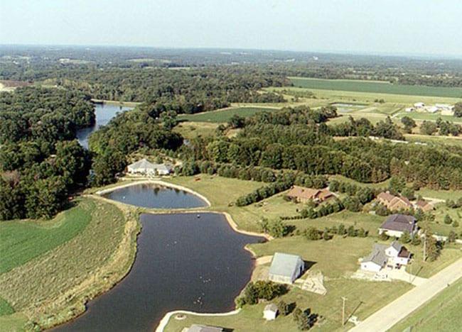 Wildlife-Lakes-Subdivision-Aerial